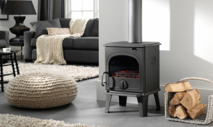 DRU 44MF Cast Iron Stove